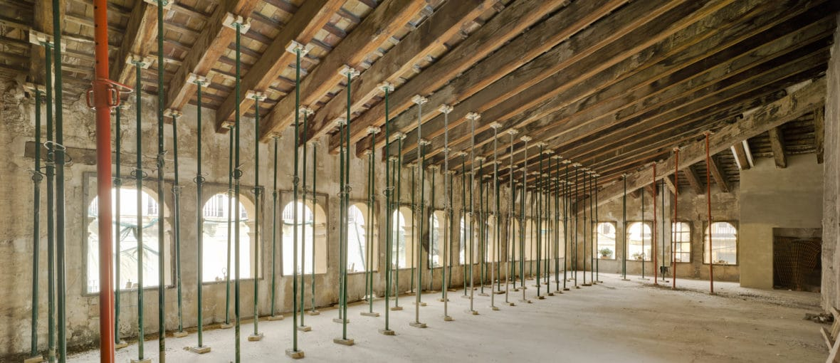The Hortensia Herrero Art Centre launches a new website with a virtual tour of the building's restoration