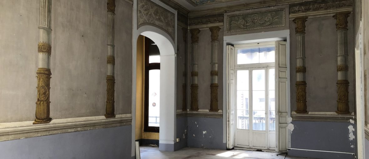 El Centro de Arte Hortensia Herrero comienza las obras de rehabilitación de las futuras oficinas